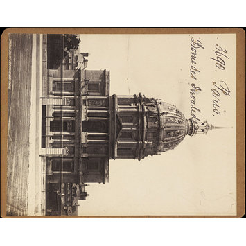 Photograph - Paris.  Dome des Invalides