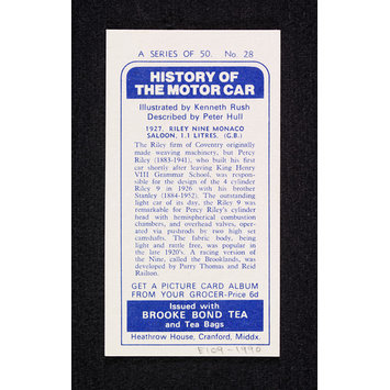 Print - The History of the Motor Car