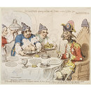 Dumourier Dining in State at St James – The worthy members of society at the Crown and Anchor (Print)
