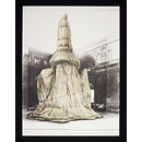 Wrapped Monument to Leonardo (Print)