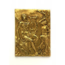 Apollo and Marsyas (Plaquette)