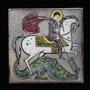 St George and the Dragon (Tile)