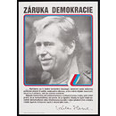 Guarantee of Democracy - Václav Havel (Poster)