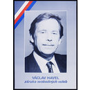 Václav Havel - Guarantee of Free Elections (Poster)
