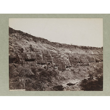 Photograph - Ajanta, General View