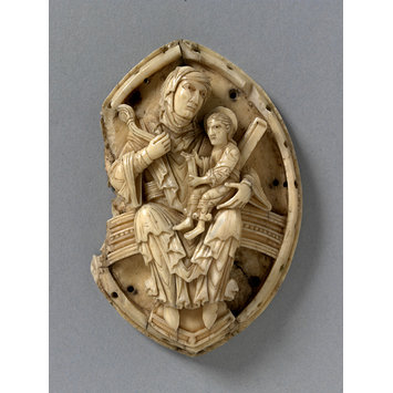 Plaque - Virgin and Child