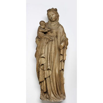 Statue - The Virgin and Child