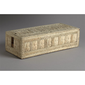 Casket - Casket with Christ, the Virgin, Apostles and Saints