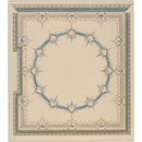 Design for bedroom ceiling at Canford Manor (Drawing)