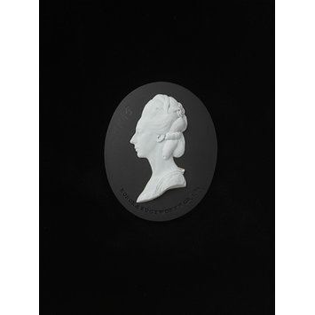 Portrait medallion - Honorea Sneyd Edgworth
