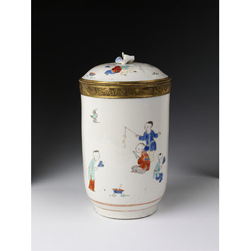 Toilette pot and cover