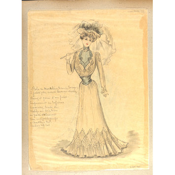Fashion design - Été 1900