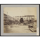 Construction of 1862 International Exhibition buildings, General view from the west (Photograph)