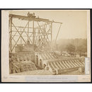 Kensington Gardens, Albert Memorial, construction work (Photograph)