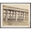 1862 International Exhibition, South Kensington, under construction (Photograph)