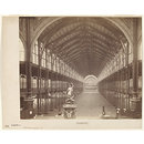 Interior view of the Nave, looking west, International Exhibition, South Kensington (Photograph)