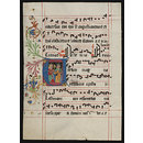 Leaf from an Antiphoner with a historiated initial U (Manuscript)