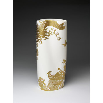 Vase - Eastman Gold Aves Vase No.4
