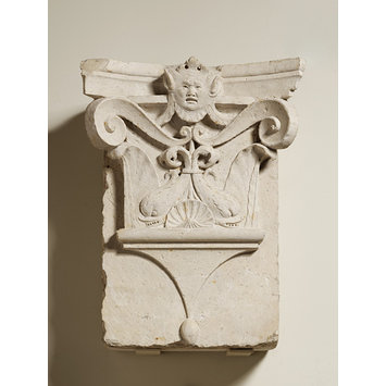 Architecture pilaster capital