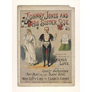 Music sheet cover for 'Johnny Jones and His Sister Sue from 'Ruy Blas or the Blasé Roué', Gaiety Theatre, 1889. (Print)