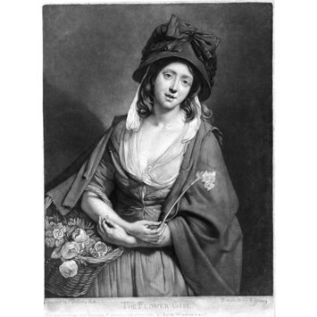Print - The Flower Girl