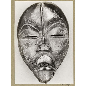 Photograph - Mask, Ivory Coast