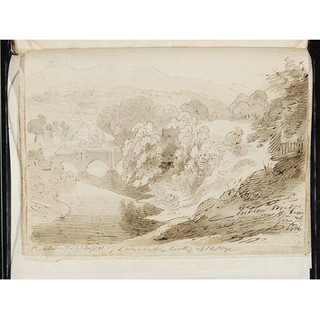 Sketchbook - Sketchbook of drawings made in the Wye Valley, Shropshire and the Lake District
