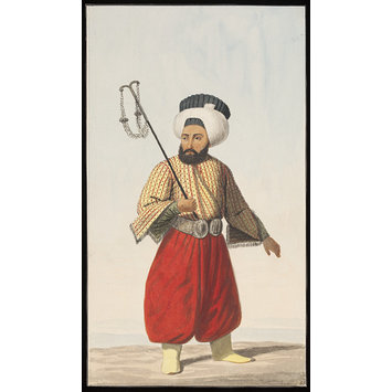 Watercolour - Çavusbasi or Chief Usher