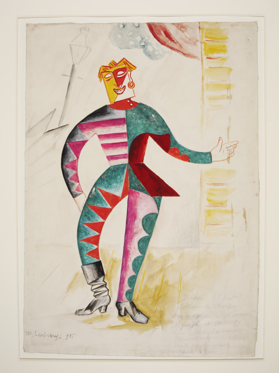 Design for the costume of the Chief Clown (Le Buffoon) in the ...