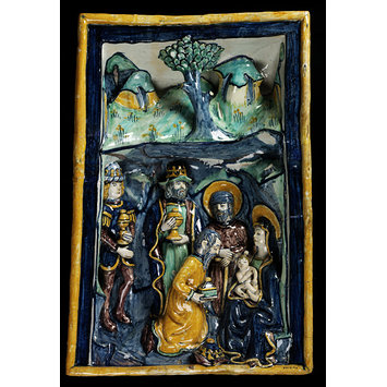 Panel - The Adoration of the Magi