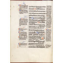 Acts of the Apostles, with gloss, in Latin (Illuminated manuscript)