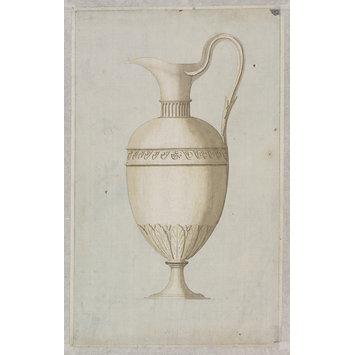 A design for a silver communion flagon