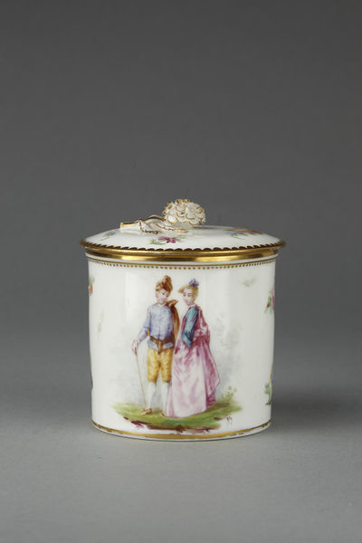 Pomade Pot And Cover Henk Carl V Amp A Search The Collections