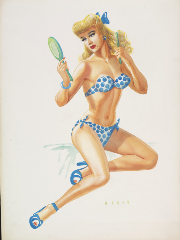 Bikini Pin Up Girl