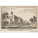 The South West View of Hummerton Chapel (Print)