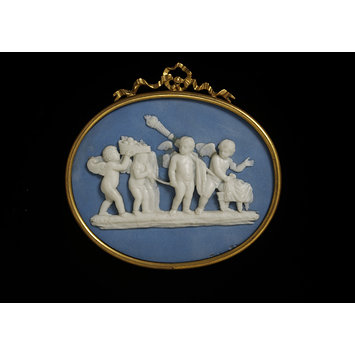 Plaque - Marriage of Cupid and Psyche