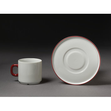 Coffee cup and saucer - Life