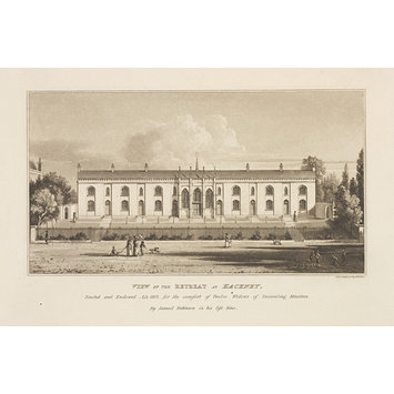 Print - View of the Retreat at Hackney
