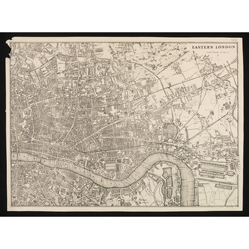 Print - Map of Eastern London