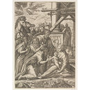 The Adoration of the Magi (Print)