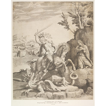 Print - St. George and the Dragon