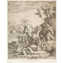 St. George and the Dragon (Print)