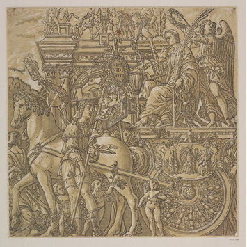 Woodcut - The Triumph of Julius Cæsar