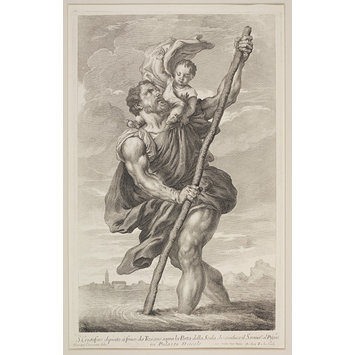 Print - St. Christopher