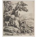 St. Jerome in the Wilderness (Print)