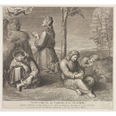 Christ Praying on the Mount of Olives (Print)