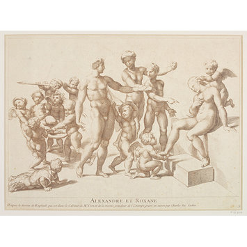 Print - The Marriage of Alexander and Roxana