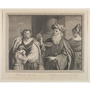 Abraham giving up Hagar (Print)