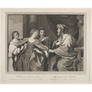 Esther a suppliant before Ahasuerus (Print)