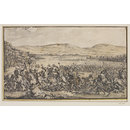 A Battle Scene with Roman Soldiers in a Landscape (Drawing)